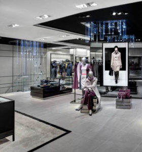 Hugo Boss - small store